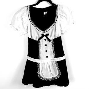 NWOT Wet Seal Maid Halloween Costume